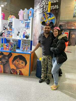 ROBERTO attended Disney on Ice Presents Mickey's Search Party on Apr 29th 2021 via VetTix