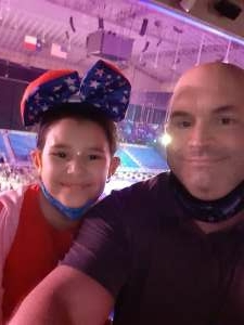 Mike attended Disney on Ice Presents Mickey's Search Party on Apr 29th 2021 via VetTix