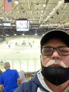 Dennis attended Florida Everblades vs. Jacksonville Icemen - - ECHL on Apr 7th 2021 via VetTix