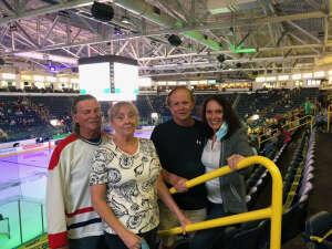 Bob attended Florida Everblades vs. Greenville Swamp Rabbits - ECHL on Apr 16th 2021 via VetTix