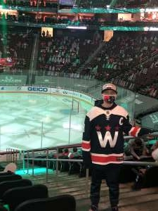 B Rap attended New Jersey Devils vs. Washington Capitals - NHL on Apr 2nd 2021 via VetTix