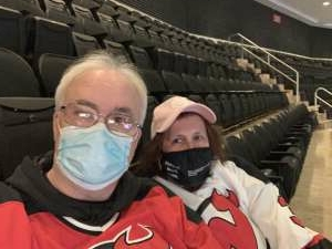 Bob attended New Jersey Devils vs. Washington Capitals - NHL on Apr 2nd 2021 via VetTix