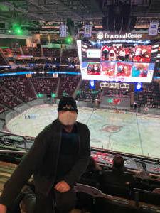 Allan  attended New Jersey Devils vs. Washington Capitals - NHL on Apr 2nd 2021 via VetTix