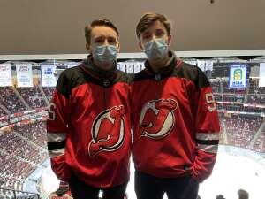 Andy attended New Jersey Devils vs. Washington Capitals - NHL on Apr 2nd 2021 via VetTix