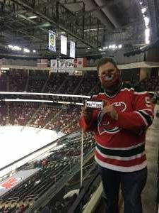 Jeremy attended New Jersey Devils vs. Washington Capitals - NHL on Apr 2nd 2021 via VetTix