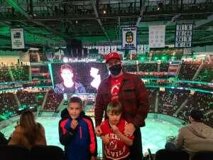 James attended New Jersey Devils vs. Washington Capitals - NHL on Apr 2nd 2021 via VetTix