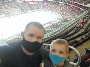 Michael and Jacob  attended New Jersey Devils vs. Washington Capitals - NHL on Apr 2nd 2021 via VetTix