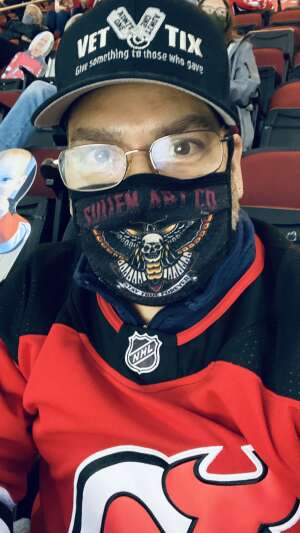 Marcos attended New Jersey Devils vs. Washington Capitals - NHL on Apr 2nd 2021 via VetTix