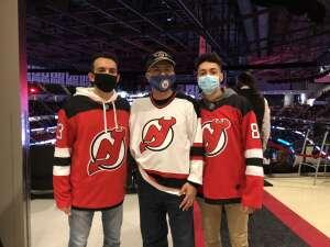 RR attended New Jersey Devils vs. Washington Capitals - NHL on Apr 4th 2021 via VetTix