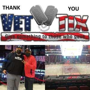 Sarge16 attended New Jersey Devils vs. Washington Capitals - NHL on Apr 4th 2021 via VetTix