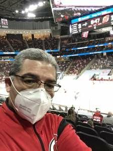 Ricardo  attended New Jersey Devils vs. Washington Capitals - NHL on Apr 4th 2021 via VetTix
