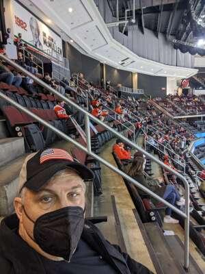 Matty Pea attended New Jersey Devils vs. Washington Capitals - NHL on Apr 4th 2021 via VetTix