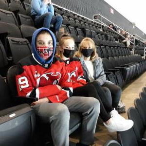 Pete attended New Jersey Devils vs. Washington Capitals - NHL on Apr 4th 2021 via VetTix