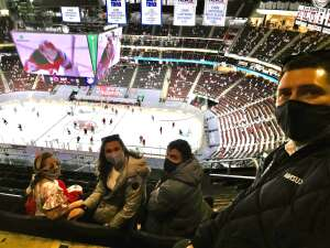 Leyla Kuznia attended New Jersey Devils vs. Washington Capitals - NHL on Apr 4th 2021 via VetTix