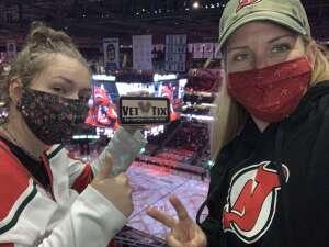 Megan R attended New Jersey Devils vs. Washington Capitals - NHL on Apr 4th 2021 via VetTix