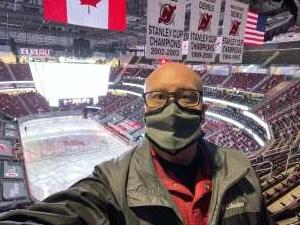 Dave attended New Jersey Devils vs. Washington Capitals - NHL on Apr 4th 2021 via VetTix