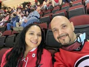 Jose attended New Jersey Devils vs. Washington Capitals - NHL on Apr 4th 2021 via VetTix