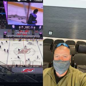 Sarge16 attended New Jersey Devils vs. Buffalo Sabres - NHL on Apr 6th 2021 via VetTix