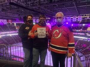 Bob attended New Jersey Devils vs. Buffalo Sabres - NHL on Apr 6th 2021 via VetTix