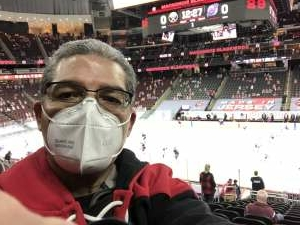 Ricardo  attended New Jersey Devils vs. Buffalo Sabres - NHL on Apr 6th 2021 via VetTix