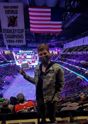 Jo attended New Jersey Devils vs. Buffalo Sabres - NHL on Apr 6th 2021 via VetTix