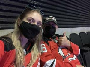Morgan Koopman attended New Jersey Devils vs. Buffalo Sabres - NHL on Apr 6th 2021 via VetTix