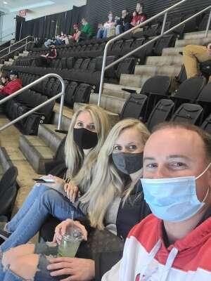 Pawel Wcislo attended New Jersey Devils vs. Buffalo Sabres - NHL on Apr 6th 2021 via VetTix