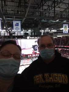 Jeff attended New Jersey Devils vs. Buffalo Sabres - NHL on Apr 6th 2021 via VetTix