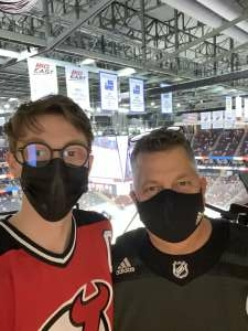 VTE attended New Jersey Devils vs. Buffalo Sabres - NHL on Apr 6th 2021 via VetTix