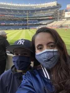 Nicole attended New York Yankees vs. Baltimore Orioles - MLB on Apr 5th 2021 via VetTix