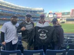 Mike  attended New York Yankees vs. Baltimore Orioles - MLB on Apr 5th 2021 via VetTix