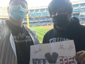 MartinM attended New York Yankees vs. Baltimore Orioles - MLB on Apr 5th 2021 via VetTix