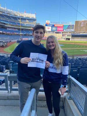 Andy attended New York Yankees vs. Baltimore Orioles - MLB on Apr 5th 2021 via VetTix