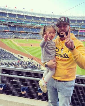 Ray S  attended New York Yankees vs. Baltimore Orioles - MLB on Apr 5th 2021 via VetTix