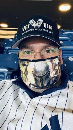 Marcos attended New York Yankees vs. Baltimore Orioles - MLB on Apr 5th 2021 via VetTix