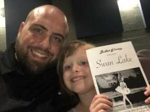 Chris attended Swan Lake on Apr 16th 2021 via VetTix