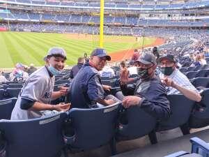 Pablo Quinones attended New York Yankees vs. Baltimore Orioles - MLB on Apr 6th 2021 via VetTix