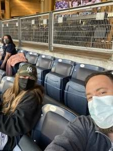 Michael  Boesch  attended New York Yankees vs. Baltimore Orioles - MLB on Apr 6th 2021 via VetTix
