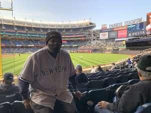 Joe-Lee M attended New York Yankees vs. Baltimore Orioles - MLB on Apr 6th 2021 via VetTix