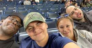 Lilly attended New York Yankees vs. Baltimore Orioles - MLB on Apr 6th 2021 via VetTix
