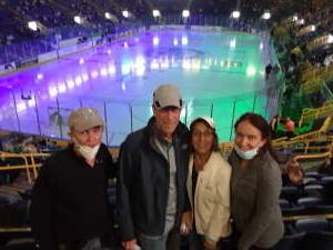 Bob attended Florida Everblades vs. Jacksonville Icemen - ECHL on Apr 23rd 2021 via VetTix
