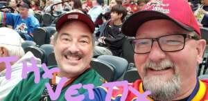 Jack & Doug attended Tucson Roadrunners vs. Henderson on Apr 2nd 2021 via VetTix