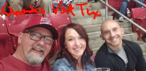 Family Time attended Tucson Roadrunners vs. Henderson on Apr 3rd 2021 via VetTix