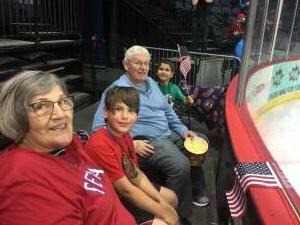 Grandpa attended Allen Americans vs. Kansas City Mavericks - ECHL on Apr 9th 2021 via VetTix