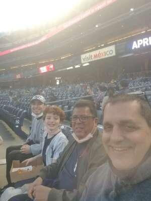 Roger  attended New York Yankees vs. Baltimore Orioles - MLB on Apr 7th 2021 via VetTix