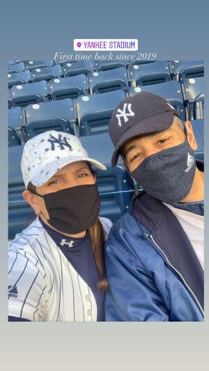 Miriam attended New York Yankees vs. Baltimore Orioles - MLB on Apr 7th 2021 via VetTix