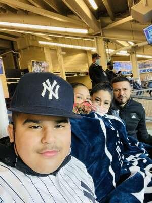 Olvin Castro attended New York Yankees vs. Baltimore Orioles - MLB on Apr 7th 2021 via VetTix