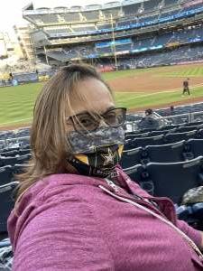 tammy nelson attended New York Yankees vs. Baltimore Orioles - MLB on Apr 7th 2021 via VetTix