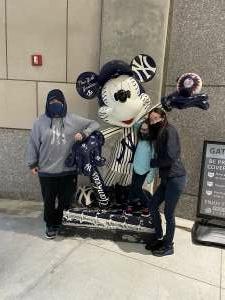 New York Mike attended New York Yankees vs. Baltimore Orioles - MLB on Apr 7th 2021 via VetTix