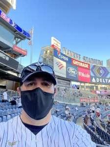 Scott Huber attended New York Yankees vs. Baltimore Orioles - MLB on Apr 7th 2021 via VetTix